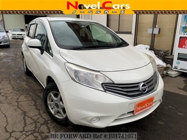 Used 2013 NISSAN NOTE BH741071 for Sale