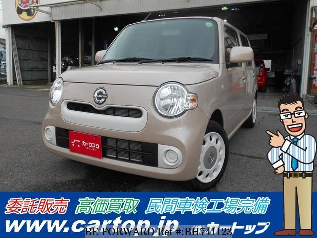 Used 2017 DAIHATSU MIRA COCOA BH741123 for Sale