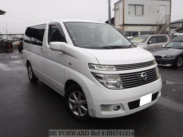 Used 2003 NISSAN ELGRAND BH741214 for Sale