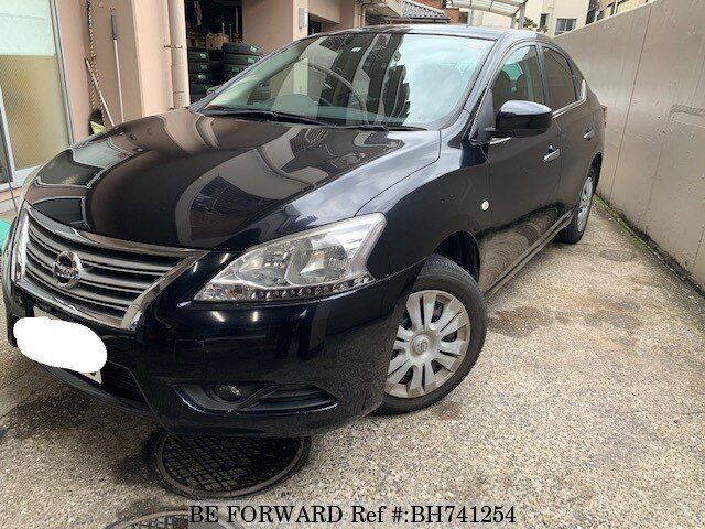 Used 2014 NISSAN SYLPHY BH741254 for Sale