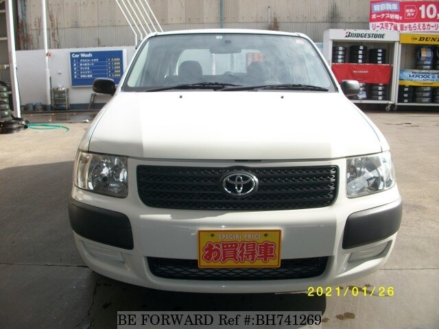 Used 2008 TOYOTA SUCCEED VAN BH741269 for Sale