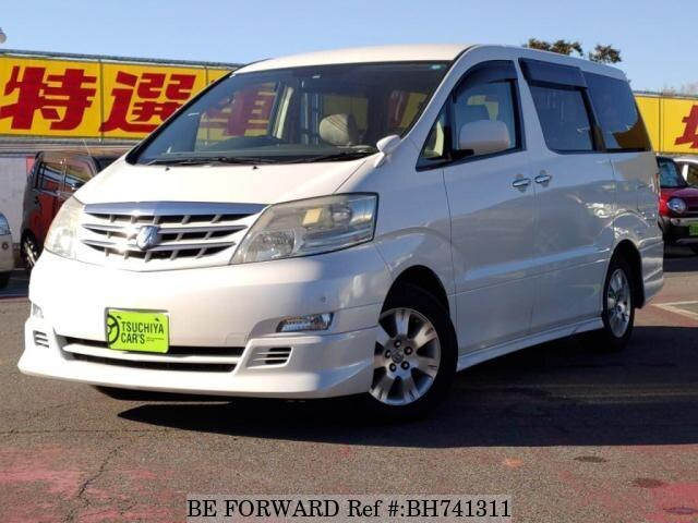 Used 2005 TOYOTA ALPHARD BH741311 for Sale