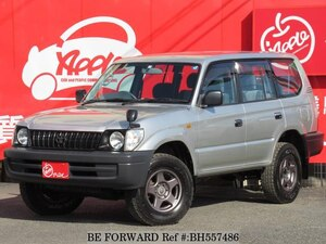 Used 2001 TOYOTA LAND CRUISER PRADO BH557486 for Sale