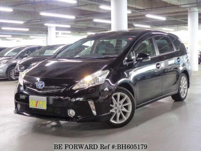 Used 2012 TOYOTA PRIUS ALPHA BH605179 for Sale