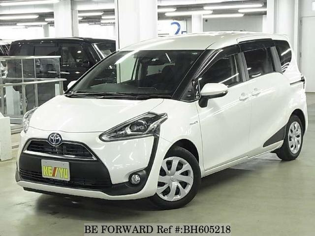 Used 2017 TOYOTA SIENTA BH605218 for Sale