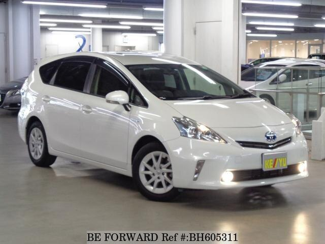 Used 2014 TOYOTA PRIUS ALPHA BH605311 for Sale