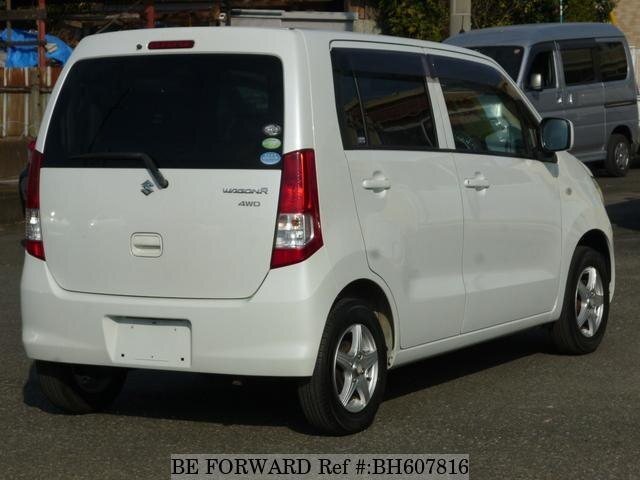 Used 2011 SUZUKI WAGON R BH607816 for Sale