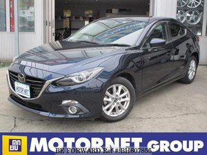 Used 2015 MAZDA AXELA BH607855 for Sale