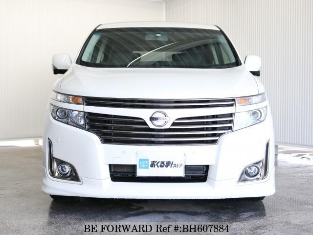 Used 2013 NISSAN ELGRAND BH607884 for Sale