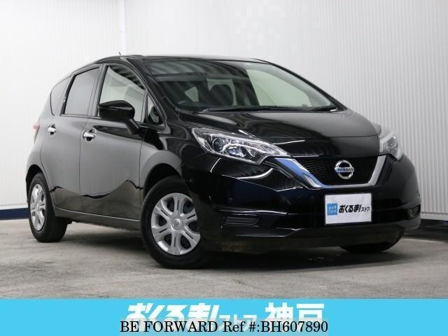 Used 2019 NISSAN NOTE BH607890 for Sale