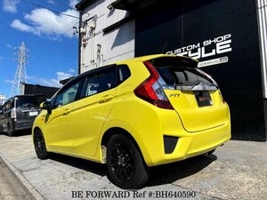 Used 2017 HONDA FIT HYBRID BH640590 for Sale