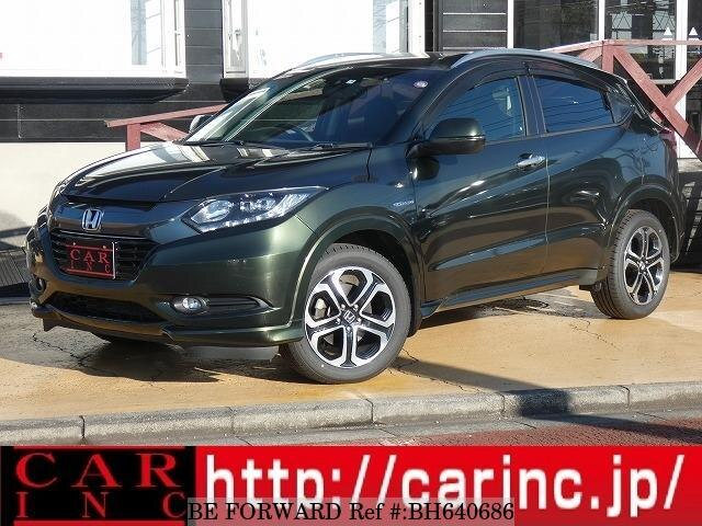 Used 2015 HONDA VEZEL BH640686 for Sale