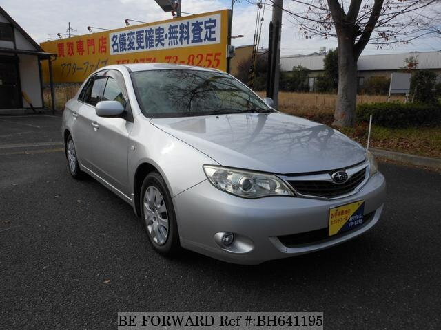 Used 2009 SUBARU IMPREZA ANESIS BH641195 for Sale