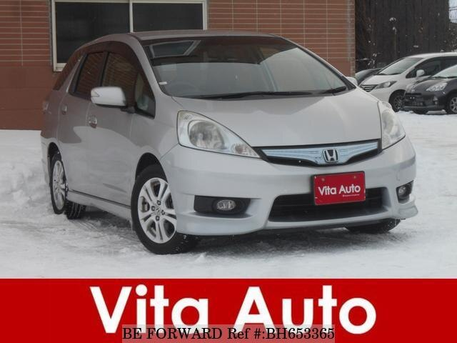 Used 2011 HONDA FIT SHUTTLE HYBRID BH653365 for Sale