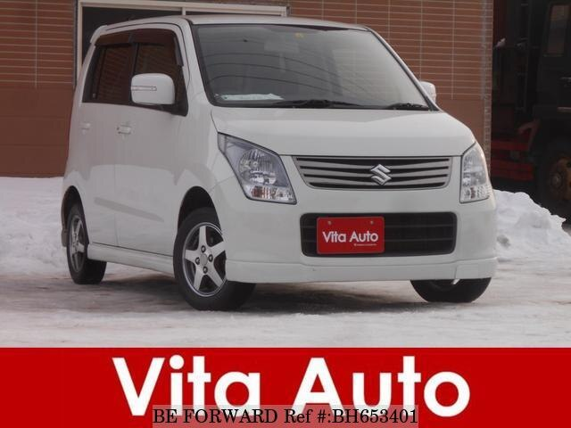 Used 2012 SUZUKI WAGON R BH653401 for Sale