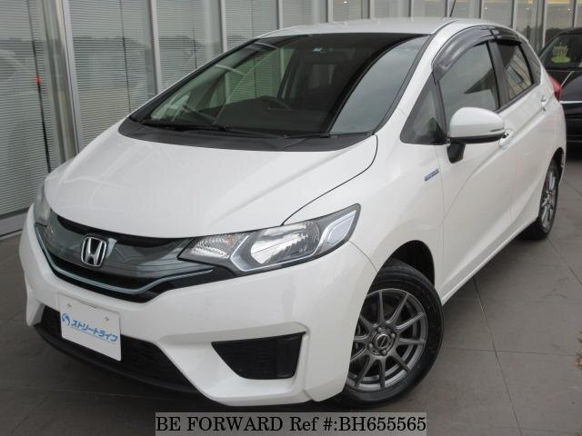 Used 2015 HONDA FIT HYBRID BH655565 for Sale