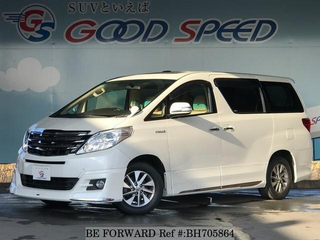 Used 2013 TOYOTA ALPHARD HYBRID BH705864 for Sale
