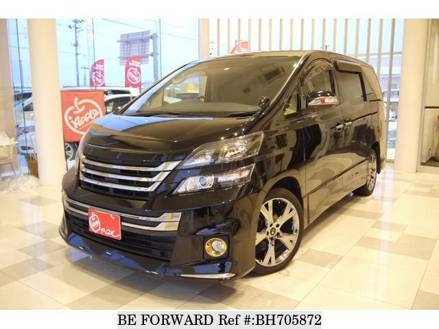Used 2014 TOYOTA VELLFIRE BH705872 for Sale