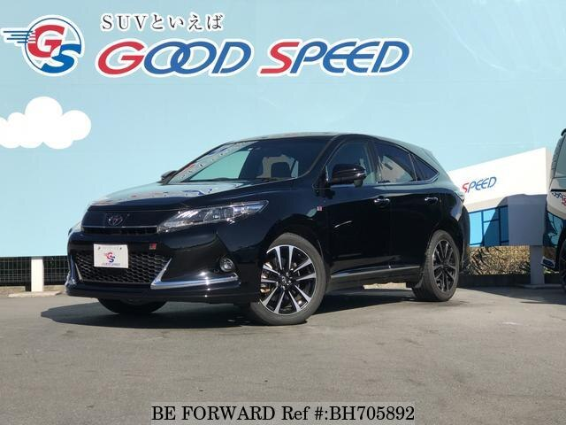 Used 2017 TOYOTA HARRIER BH705892 for Sale