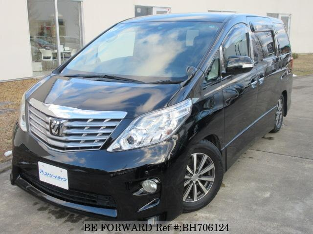 Used 2008 TOYOTA ALPHARD BH706124 for Sale