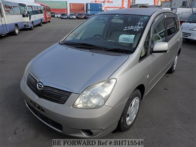 Used 2003 TOYOTA COROLLA SPACIO BH715548 for Sale