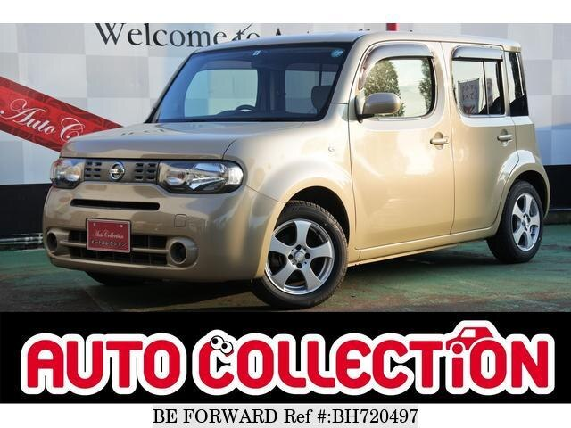 Used 2010 NISSAN CUBE BH720497 for Sale