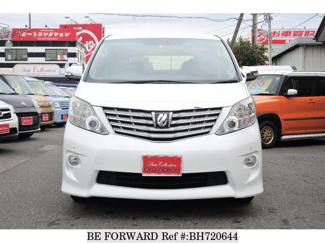 Used 2010 TOYOTA ALPHARD BH720644 for Sale