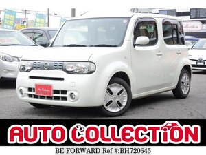 Used 2011 NISSAN CUBE BH720645 for Sale