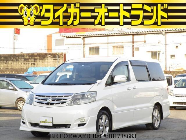 Used 2006 TOYOTA ALPHARD BH738683 for Sale