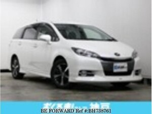 Used 2013 TOYOTA WISH BH738761 for Sale