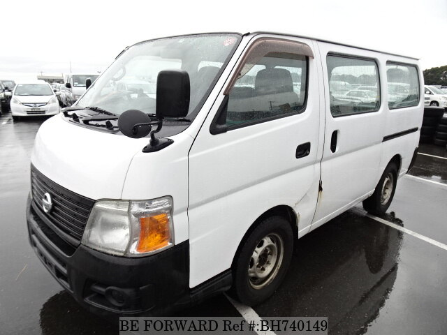 Used 2007 NISSAN CARAVAN VAN BH740149 for Sale