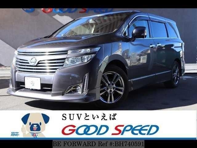 Used 2013 NISSAN ELGRAND BH740591 for Sale