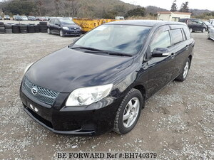 Used 2008 TOYOTA COROLLA FIELDER BH740379 for Sale