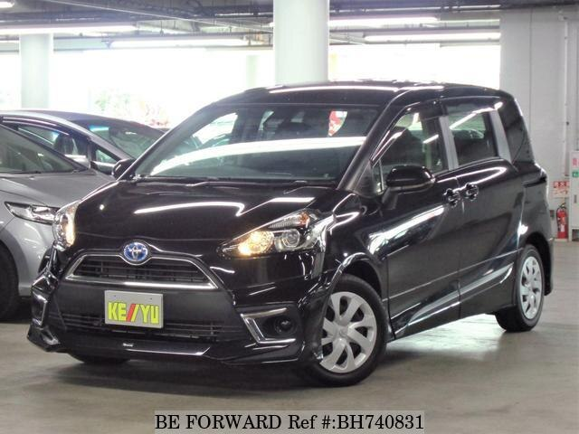 Used 2017 TOYOTA SIENTA BH740831 for Sale