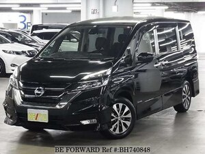 Used 2016 NISSAN SERENA BH740848 for Sale