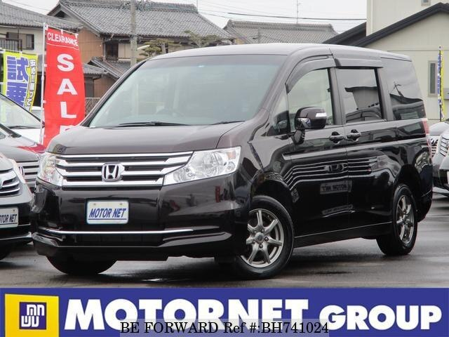 Used 2012 HONDA STEP WGN BH741024 for Sale