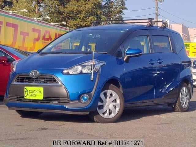 Used 2016 TOYOTA SIENTA BH741271 for Sale