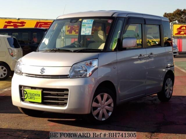 Used 2014 SUZUKI SPACIA BH741305 for Sale