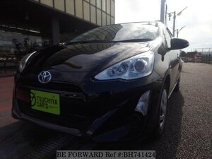 Used 2016 TOYOTA AQUA BH741424 for Sale