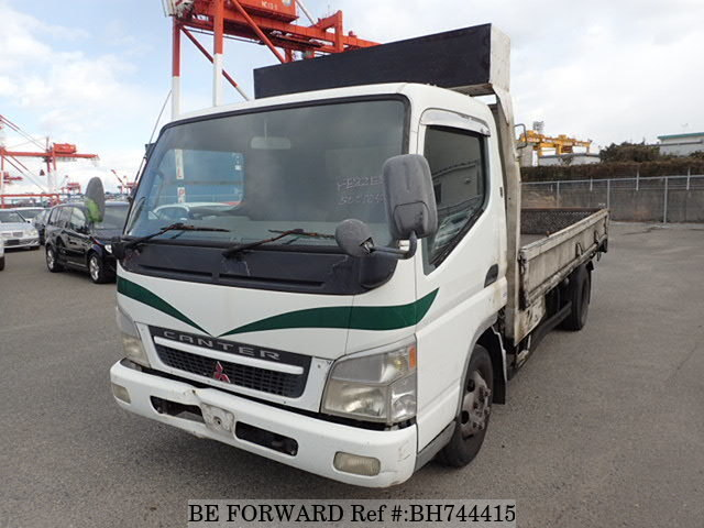 Used 2002 MITSUBISHI CANTER BH744415 for Sale