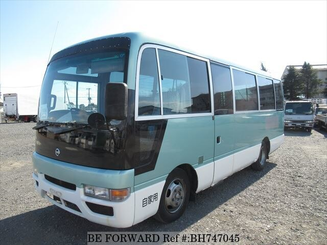 Used 2002 NISSAN CIVILIAN BUS BH747045 for Sale