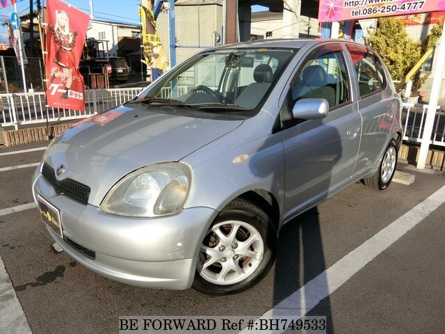 Used 2001 TOYOTA VITZ BH749533 for Sale