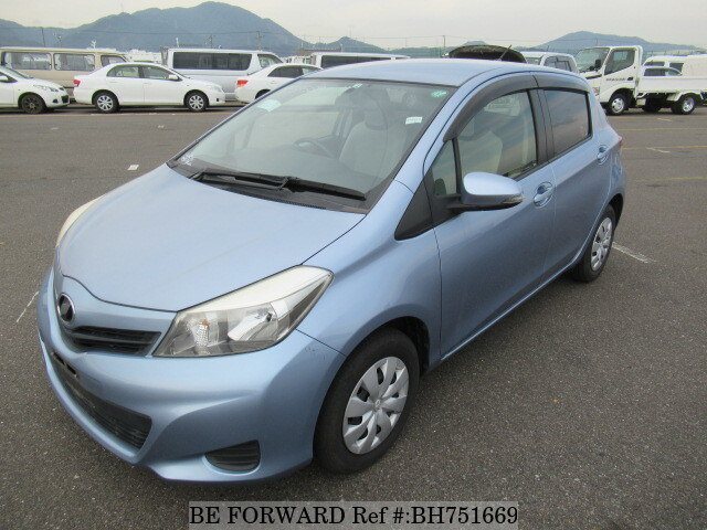 Used 2012 TOYOTA VITZ BH751669 for Sale