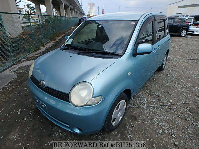 Used 2004 TOYOTA SIENTA BH751356 for Sale