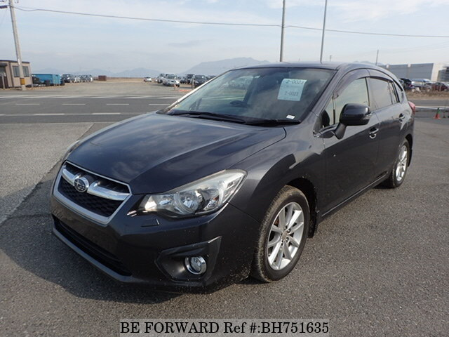 Used 2013 SUBARU IMPREZA SPORTS BH751635 for Sale