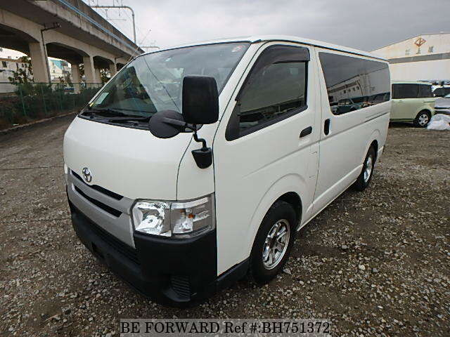 Used 2015 TOYOTA REGIUSACE VAN BH751372 for Sale