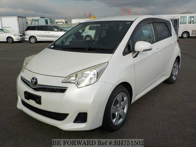 Used 2012 TOYOTA RACTIS BH751502 for Sale