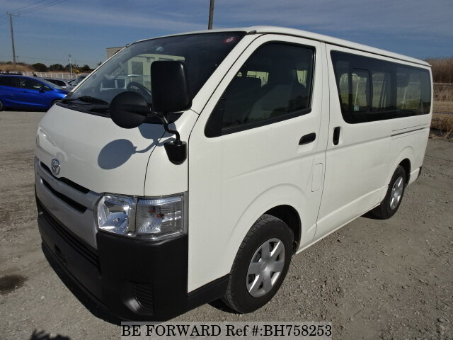 Used 2017 TOYOTA HIACE VAN BH758253 for Sale