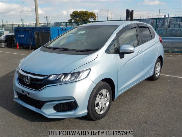Used 2018 HONDA FIT BH757926 for Sale