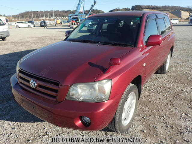 Used 2005 TOYOTA KLUGER BH758327 for Sale
